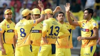 Chennai Super Kings (CSK) vs Dolphins Live Cricket Score CLT20 2014 Match 8 at Bengaluru