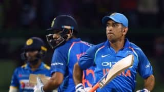 Rohit Sharma gives new name Ice Man to MS Dhoni