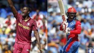 ICC विश्व कप: अफगानिस्तान-वेस्टइंडीज मैच की लाइव स्ट्रीमिंग देखें