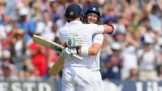 Joe Root, James Anderson put on record 10th-wicket stand to reach 485/9 at lunch against India on Day 4