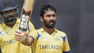 Vijay Hazare Trophy 2019-20, Round 1, Group C wrap: Tamil Nadu, Gujarat win; Tripura limp past Jammu Kashmir