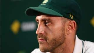 Faf du Plessis charged by ICC for alleged ball tampering