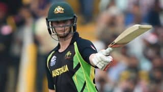 Steven Smith, Shane Watson power Australia to 193-4 against Pakistan in T20 World Cup 2016, Group 2 match at Mohali