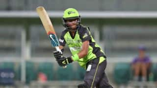 Sydney Thunder announced Harmanpreet Kaur Player of the Tournament for WBBL 2016-17