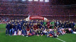 FC Barcelona beat Sevilla to win 28th Copa Del Rey title