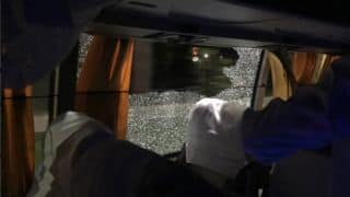 Four arrested in Guwahati for pelting stone at Australia's team bus