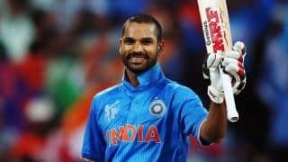 शिखर धवन के शतक के दम पर टीम इंडिया ने बनाए 321 रन