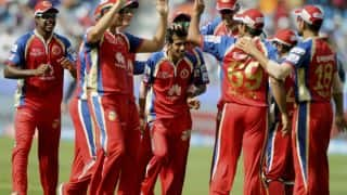 Kevin Pietersen dismissed by Yuzvendra Chahal