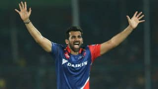 IPL 2017: Zaheer completes 100 IPL games during DD vs RCB, Match 56