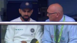 India vs England: Virat Kohli spoken to by match referee for mic-drop celebration?
