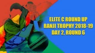 Ranji Trophy 2018-19, Elite C, Round 6, Day 2: Uttar Pradesh recover after early jolts