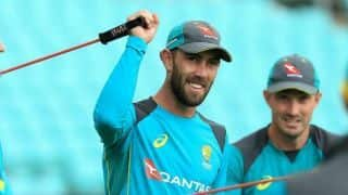 Maxwell fit to play T20I