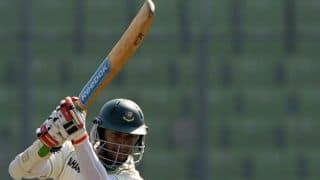 Bangladesh 406/7 against Zimbabwe at tea on Day 2