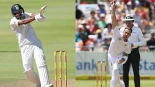 Pandya stands the fireman as Steyn reignites Protea fire to set India ablaze