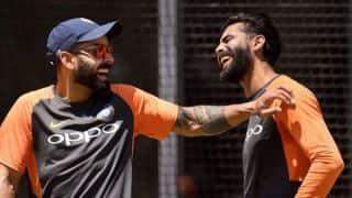 Kohli, Jadeja can intimidate batsmen with their fielding: R Sridhar