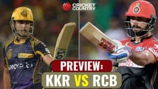 KKR vs RCB, IPL 2017, match 27 preview: RCB look to grab vital points at KKR's fortress