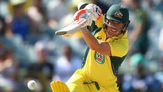 David Warner gets Australia off to flying start against India in 4th ODI at Canberra