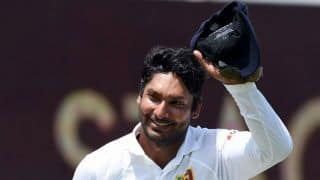 Kumar Sangakkara's emotional send off during India vs Sri Lanka 2015, 2nd Test at Colombo