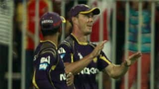 Kolkata Knight Riders vs Kings XI Punjab Live Scorecard IPL 2014: Match 15 of IPL 7 at Abu Dhabi