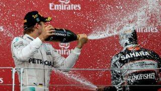 Nico Rosberg wins European Grand Prix; Sergio Perez finishes third for Force India