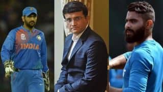 Sourav Ganguly backs MS Dhoni to continue after World Cup 2019