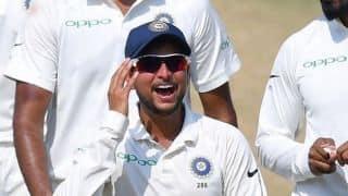 Great feeling to take five wickets in a Test match: Kuldeep Yadav