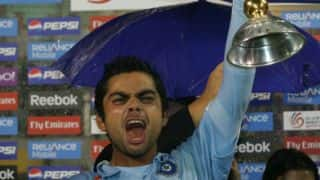 On this day, in 2008, Virat Kohli led India to Under-19 World Cup win