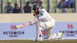 Bangladesh reach 289/4 against Sri Lanka at tea on Day 3, 2nd Test