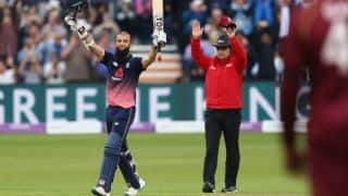 It was time to press the button and play a few shots, says Moeen Ali
