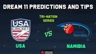 USA vs NAM Dream11 Team USA vs Namibia, Match 2, USA Tri-nations T20I series – Cricket Prediction Tips For Today's Match USA vs NAM at Florida
