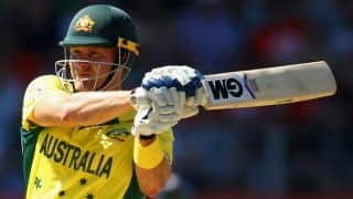 Shane Watson vows to fightback after being axed for Australia's World Cup match