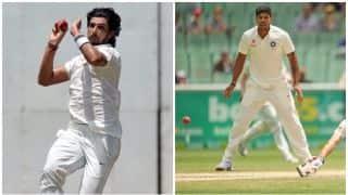 बैंगलुरू टेस्ट में ऑस्ट्रेलियाई तेज गेंदबाजों से दो कदम आगे नजर आए उमेश- ईशांत
