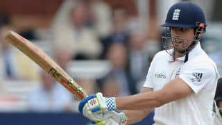 Alastair Cook scores 27th Test ton in England vs New Zealand, 1st Test, Day Four at Lord's