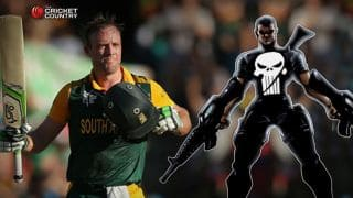 AB de Villiers's 162 against West Indies in ICC Cricket World Cup 2015 makes him 'The Punisher'