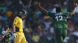 ICC World Cup 2011: Pakistan end Australia's 34-match unbeaten run