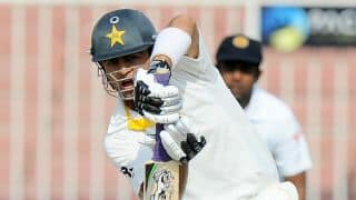 Pakistan slouch to 85/0 at lunch on Day 3 of 3rd Test against Sri Lanka