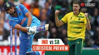 ICC Champions Trophy 2017: Statistical preview for India-South Africa clash