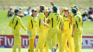 ICC U-19 World Cup 2018, Quarter Final: Llyod Pope's 8-wicket haul seal Australia's place in semi-final