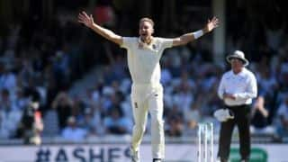 Stuart Broad is bowling better with time : Alastair Cook