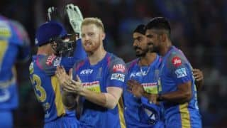 IPL 2018, Match 40: RR beat KXIP by 15 runs, keep Playoffs hopes alive