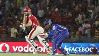 Shaun Marsh brings up 2000 IPL runs as Kings XI Punjab continue to struggle against Rajasthan Royals in Match 18 IPL 2015