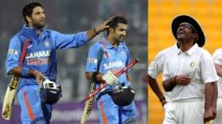 Gautam Gambhir trolls Yuvraj Singh but unhappy with Virender Sehwag's birthday tweet
