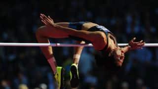 Sahana Kumari 8th in women's high jump