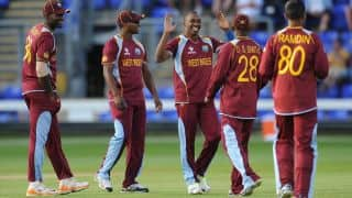 West Indies beat Ireland in 2nd T20I at Jamaica to level series 1-1