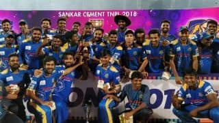 TNPL 2018: Siechem Madurai Panthers overcome Dindigul Dragons to clinch title