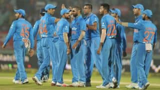 India restrict United Arab Emirates (UAE) to 81-9 in Asia Cup T20 2016, Match 9 at Dhaka