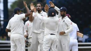 India vs West Indies, 4th Test: Rain plays spoiler on day 1