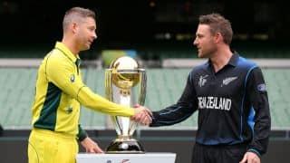Australia vs New Zealand Live Cricket Score ICC Cricket World Cup 2015 Final at Melbourne Cricket Ground (MCG)