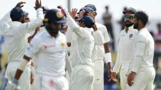 1st Test at Galle, Day 2: Sri Lanka Men lose half the side in pursuit of 600