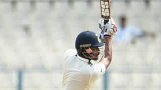 Saha's double ton powers Rest of India  to 6-wicket victory vs Gujarat